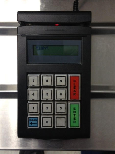 Point of Sale Keypad